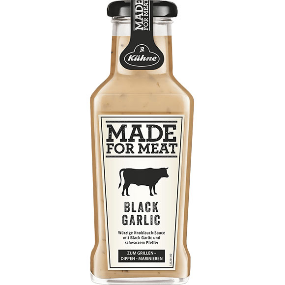 Black Garlic 235ml - Kuhne Made for Meat