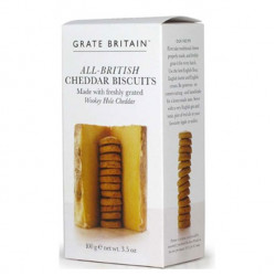 Cheddar Cheese Biscuits 100g - Artisan Grate Britain