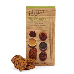 Toast Fig & Sultana 100g - Artisan Biscuits Miller's