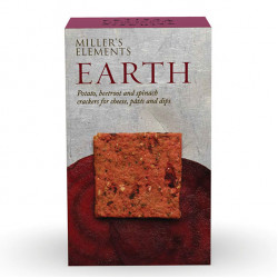 Elements Earth Crackers 100g - Artisan Biscuits Miller's