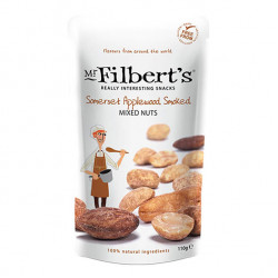applewood smoked mixed nuts    110g - mr filbert's