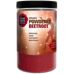 Organic beetroot powder 250g - of the earth superfoods