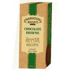 Chocolate brownie 150g - farmhouse  biscuits
