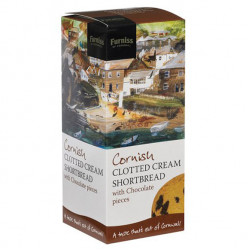Furniss cornwall clotted cream shortbread with chocolate
