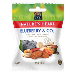 Nature's Heart Blueberry And Goji Trail Mix 30g