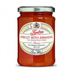 tiptree apricot with armagnac preserve 340g