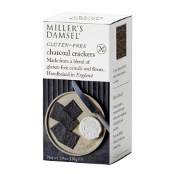 Hand baked Charcoal 110g - Artisan Biscuits Millers Damsels